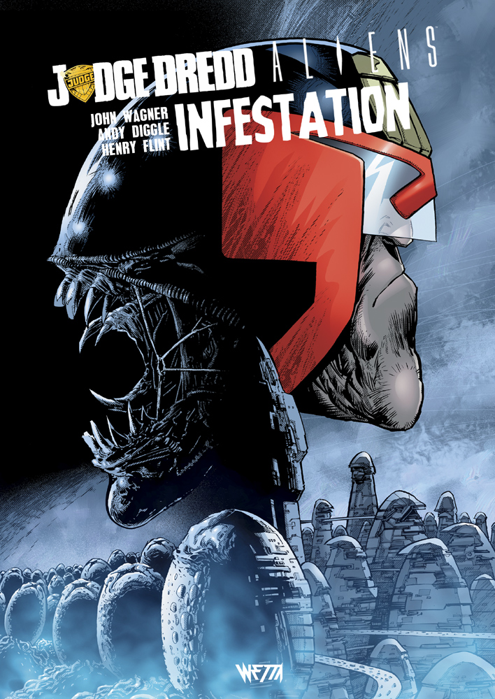 Judge Dredd / Aliens : Infestation - Édition Hardcore