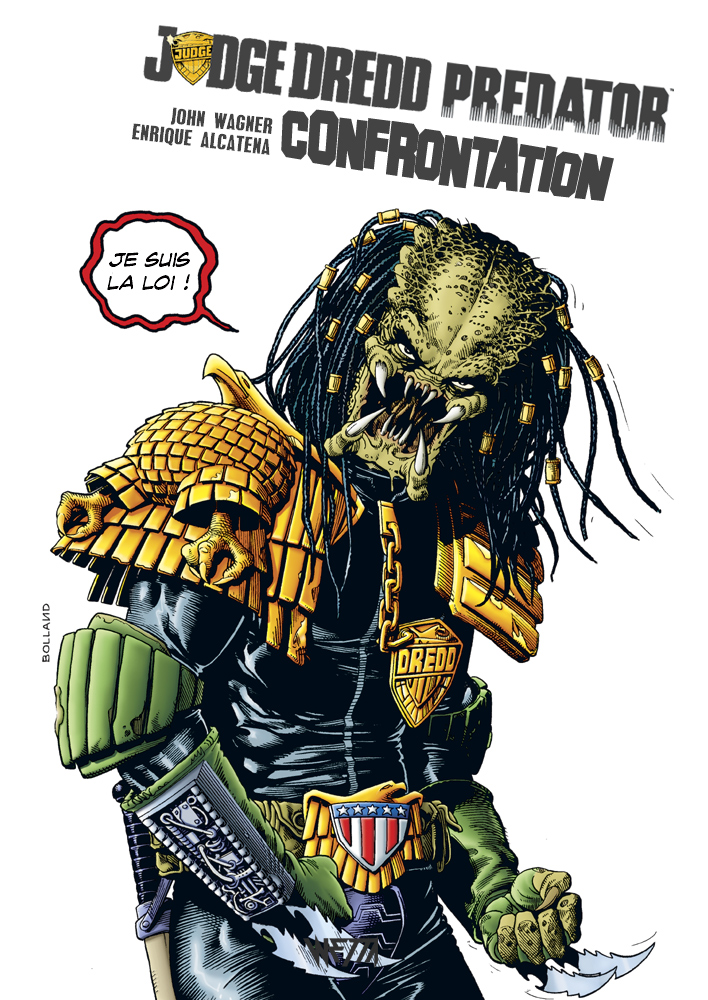 Judge Dredd / Predator : Confrontation - Édition Hardcore