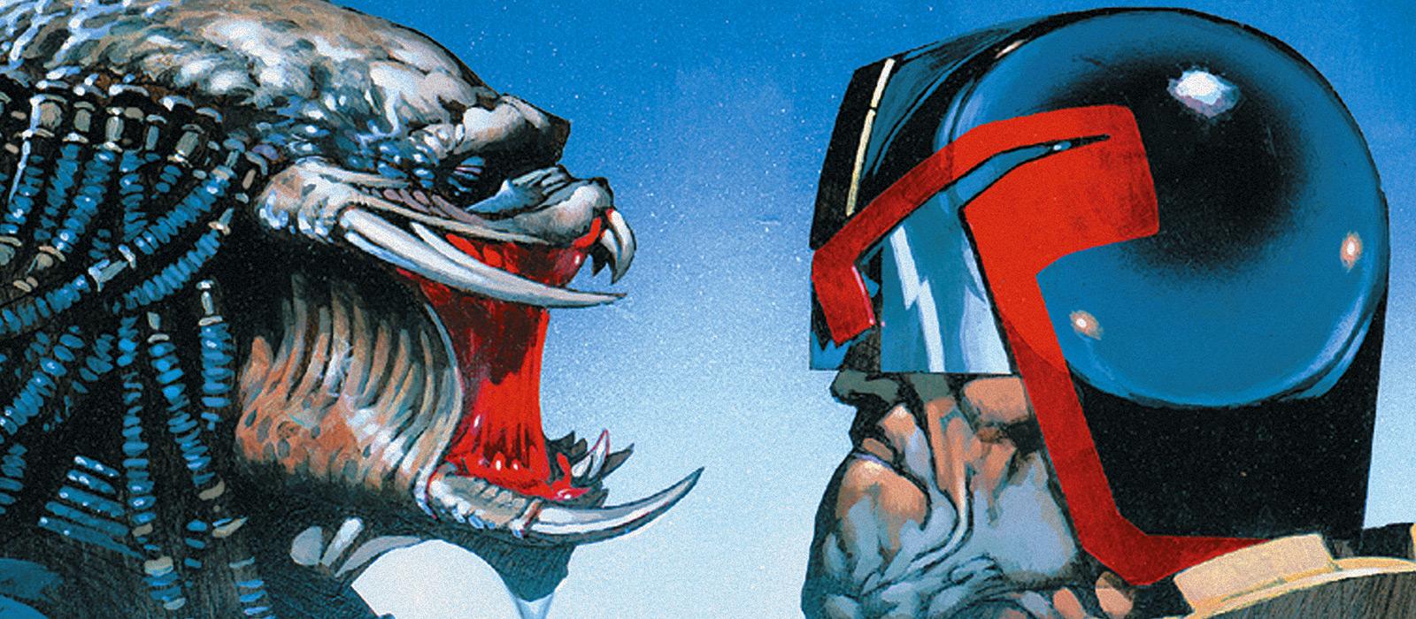 Permalink to: Judge Dredd / Predator : Confrontation